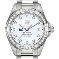 Berkeley Women's TAG Heuer Steel Aquaracer with MOP Diamond Dial & Diamond Bezel