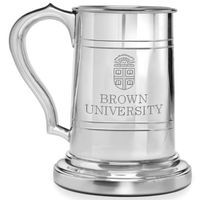 Brown Pewter Stein