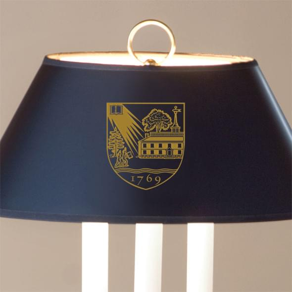 Traditional Dartmouth College Lamp in Brass and Marble