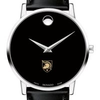 West Point Men's Movado Museum with Leather Strap Image-1 Thumbnail