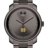 Notre Dame Men's Movado BOLD Gunmetal Grey