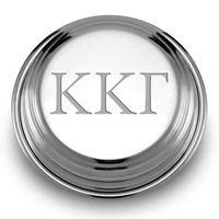Kappa Kappa Gamma Pewter Paperweight Image-1 Thumbnail