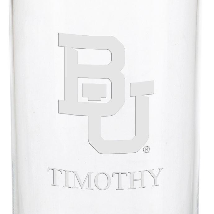 Baylor Iced Beverage Glasses - Set of 4