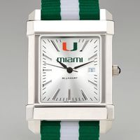 Miami Men's Collegiate Watch w/ NATO Strap