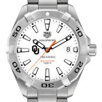 Oklahoma Men's TAG Heuer Steel Aquaracer