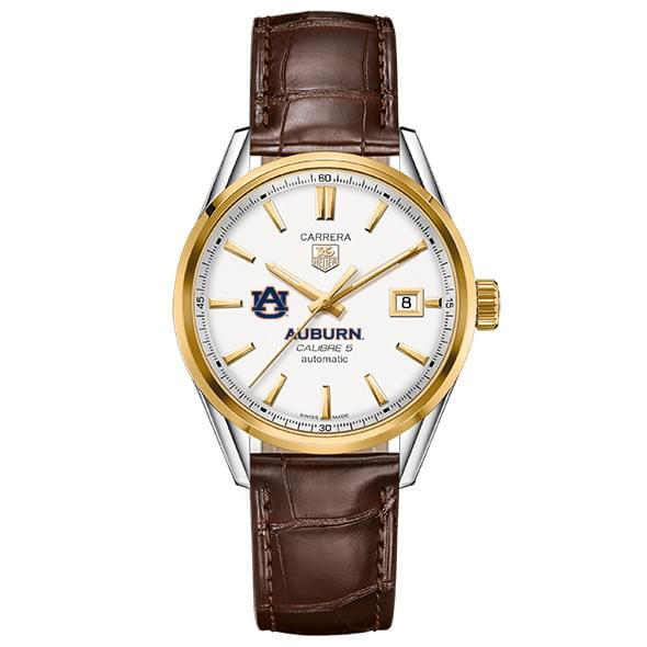 Auburn Men's TAG Heuer Two-Tone Carrera with Strap
