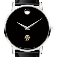 Boston Men's Movado Museum with Leather Strap