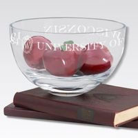 "Wisconsin 10"" Glass Celebration Bowl"