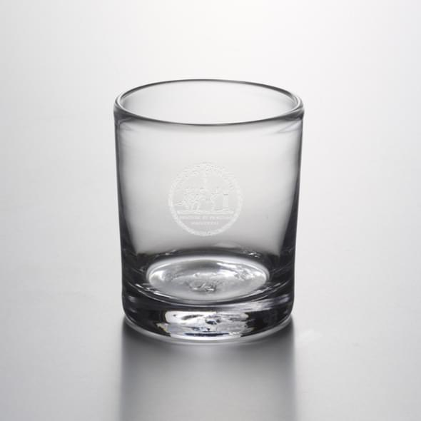 NYU Double Old Fashioned Glass by Simon Pearce