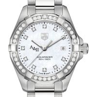ADP W's TAG Heuer Steel Aquaracer with MOP Dia Dial & Bezel