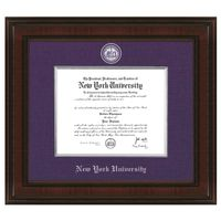 NYU Excelsior Diploma Frame