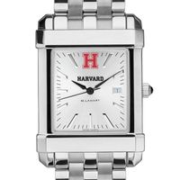Harvard Men's Collegiate Watch w/ Bracelet