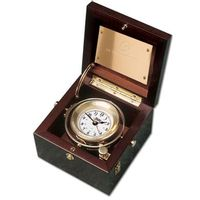 USNI Weems & Plath Gimbal Box Clock