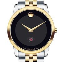 South Carolina Men's Movado Two-Tone Museum Classic Bracelet