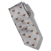 West Point Insignia Tie in Gray