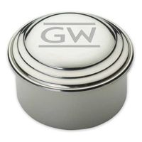 George Washington Pewter Keepsake Box