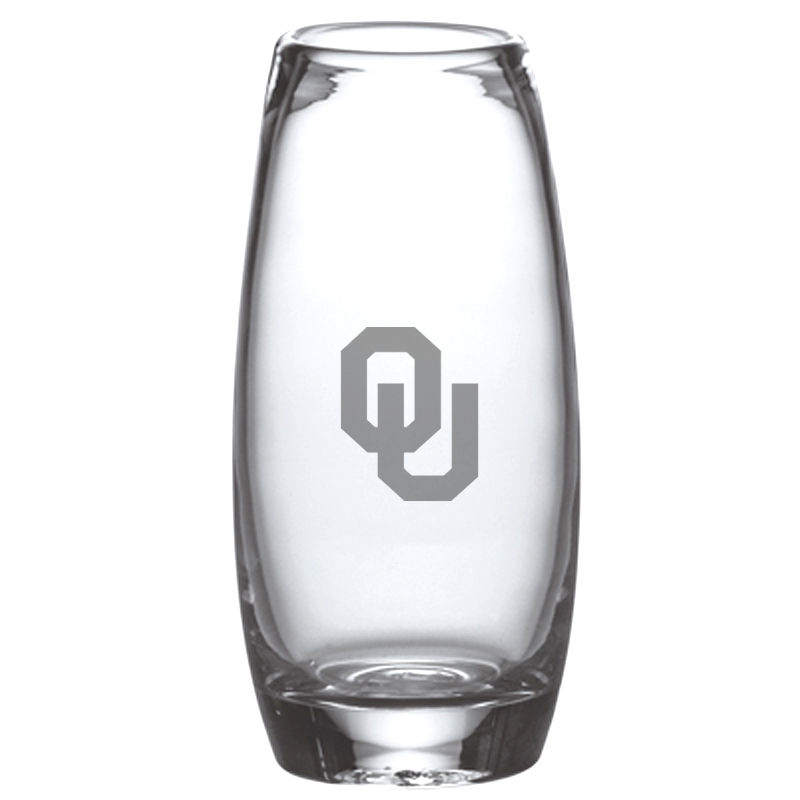 Oklahoma Glass Addison Vase by Simon Pearce