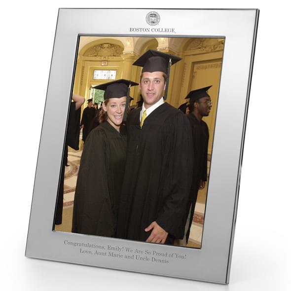 Boston College Polished Pewter 8x10 Picture Frame