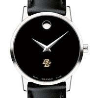 Boston Women's Movado Museum with Leather Strap