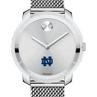 Notre Dame Women's Movado Stainless Bold 36