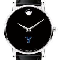 Yale Men's Movado Museum with Leather Strap