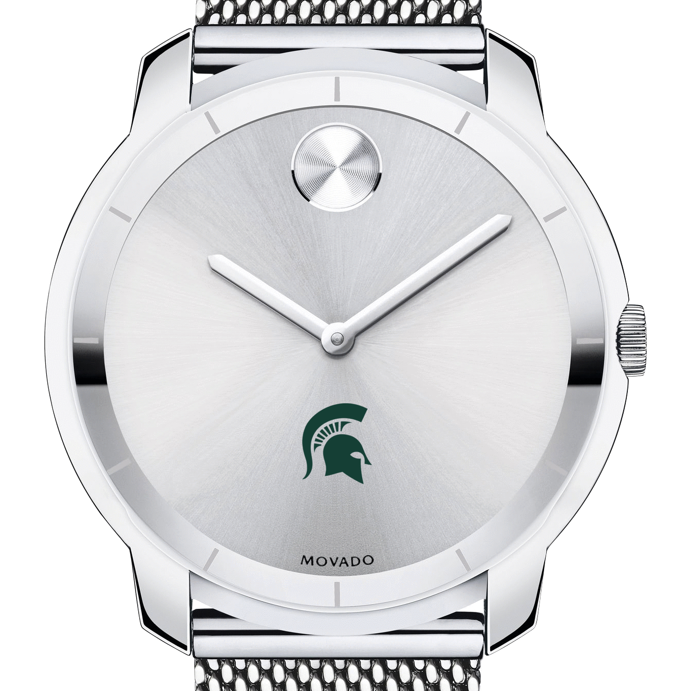 Michigan State Men's Movado Stainless Bold 44