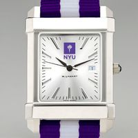 NYU Men's Collegiate Watch w/ NATO Strap
