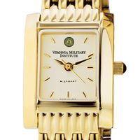 VMI Women's Gold Quad Watch with Bracelet