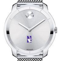 Northwestern Men's Movado Stainless Bold 44