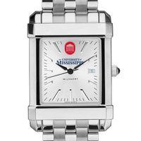 Ole Miss Men's Collegiate Watch w/ Bracelet