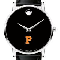 Princeton Men's Movado Museum with Leather Strap