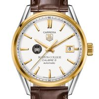 Boston College Men's TAG Heuer Two-Tone Carrera with Strap