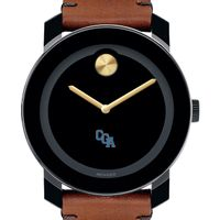 Coast Guard Academy M's Movado BOLD with Brown Leather Strap