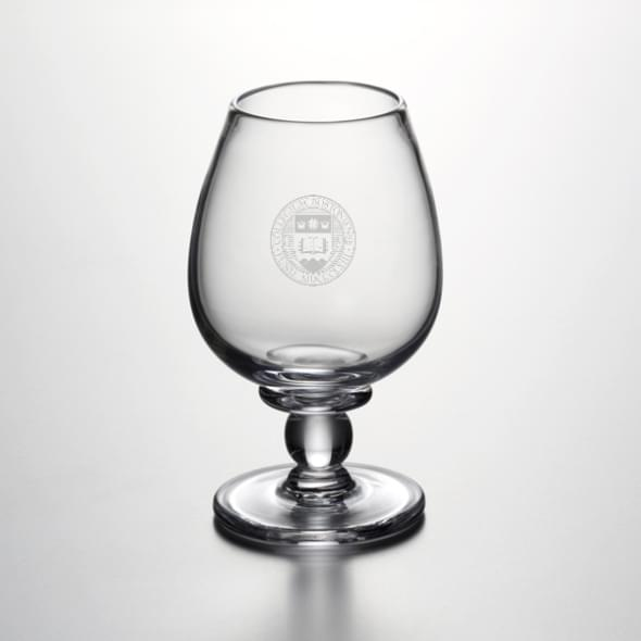 Boston College Glass Brandy Snifter by Simon Pearce