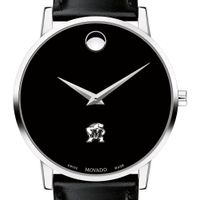 Maryland Men's Movado Museum with Leather Strap