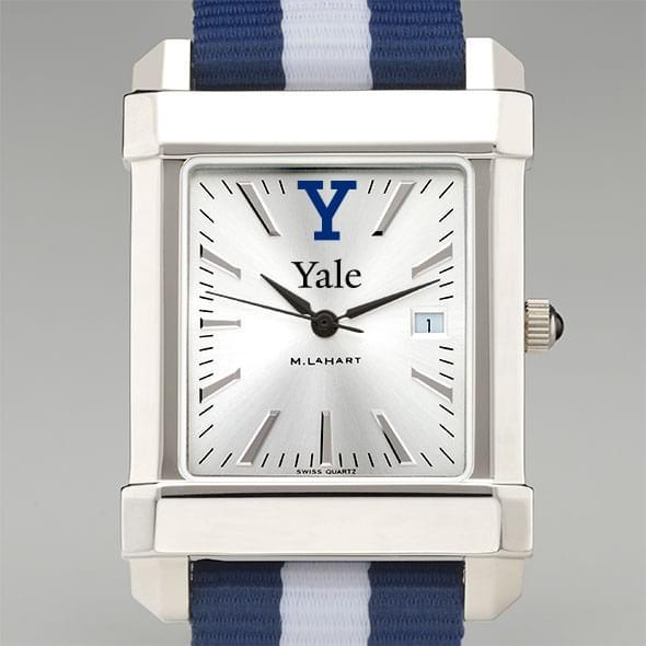 Yale Men's Collegiate Watch with NATO Strap