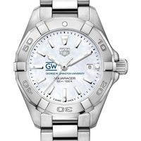 George Washington Women's TAG Heuer Steel Aquaracer w MOP Dial