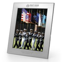 Coast Guard Academy Polished Pewter 8x10 Picture Frame