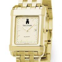 Citadel Men's Gold Quad Watch with Bracelet