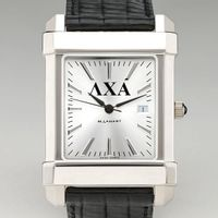 Lambda Chi Alpha Men's Collegiate Watch with Leather Strap Image-1 Thumbnail