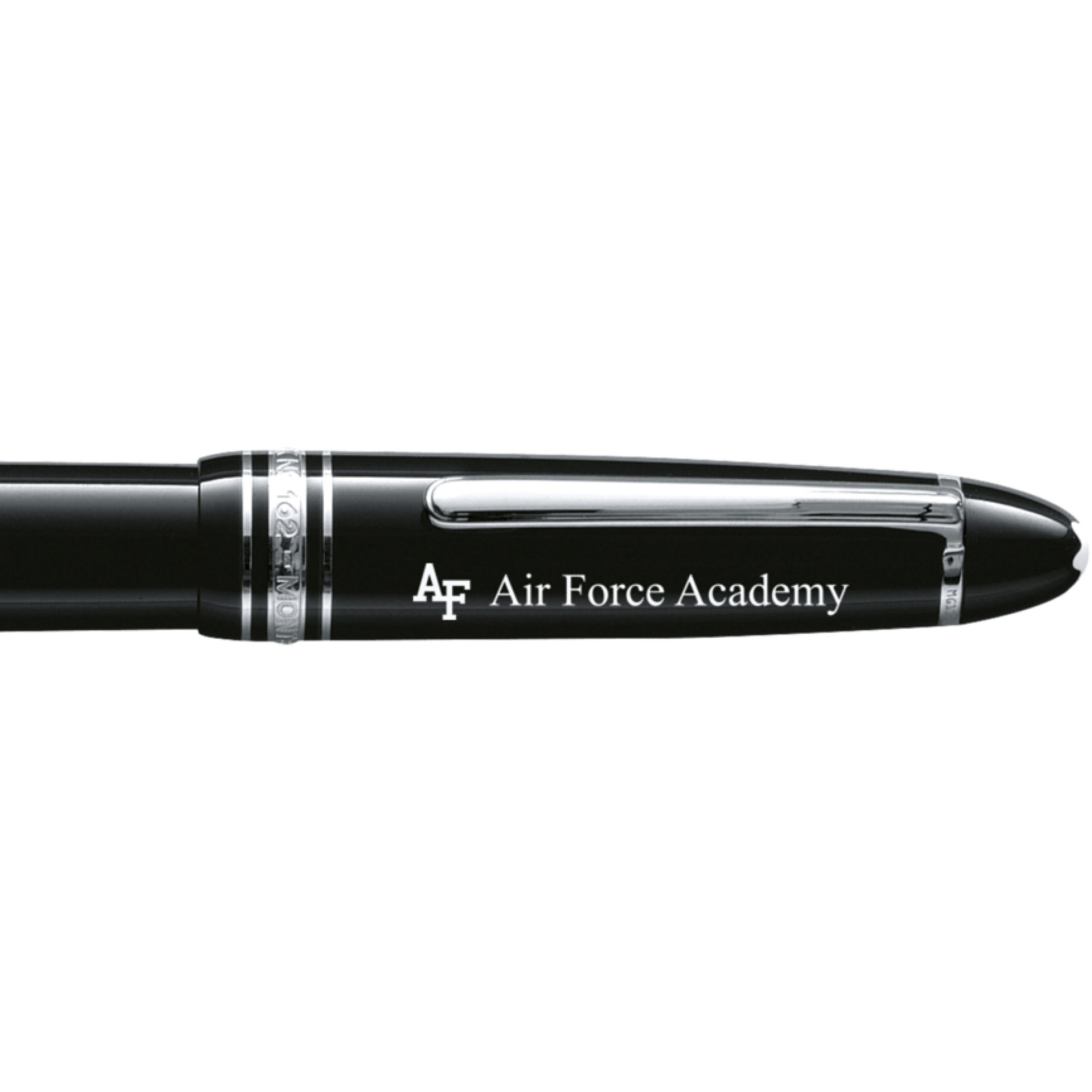 US Air Force Academy Montblanc Meisterstück LeGrand Rollerball Pen in Platinum