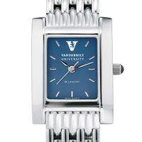 Vanderbilt Women's Blue Quad Watch with Bracelet
