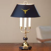 Traditional Texas Lamp in Brass and Marble