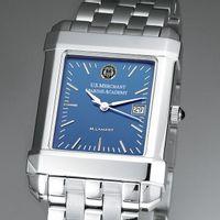 USMMA Men's Blue Quad Watch with Bracelet Image-1 Thumbnail