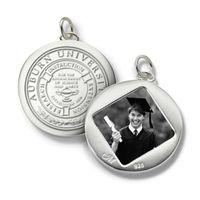 Auburn Monica Rich Kosann Round Charm in Silver