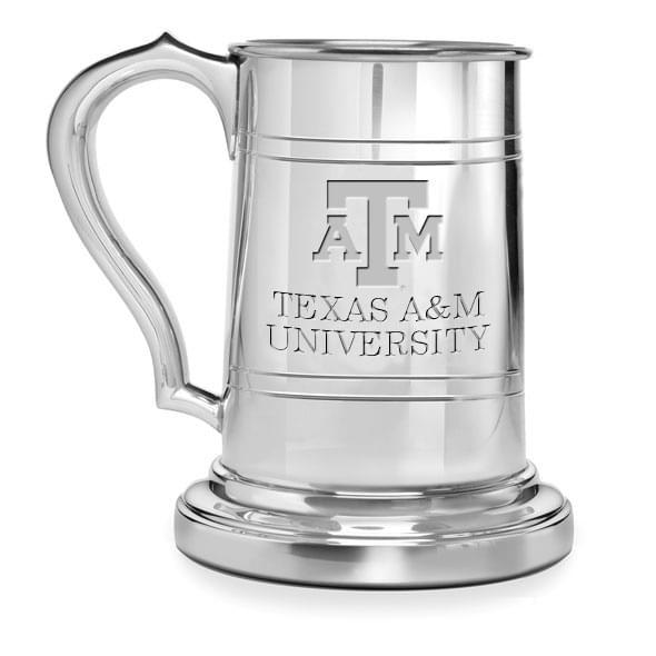 Texas A&M Pewter Stein