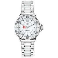 Harvard Business School Women's TAG Heuer Formula 1 Ceramic Diamond Watch
