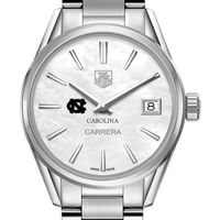 UNC Women's TAG Heuer Steel Carrera with MOP Dial