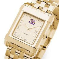 LSU Men's Gold Quad with Bracelet