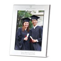 Harvard Polished Pewter 5x7 Picture Frame